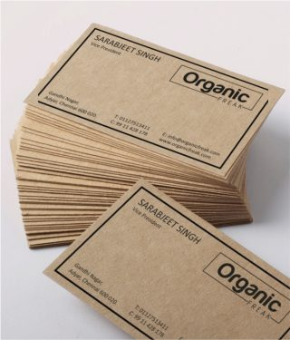 11-Economy-Organic-Food-Visiting-Card-View-1