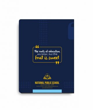 Personalise-School-Notebook-8 Back