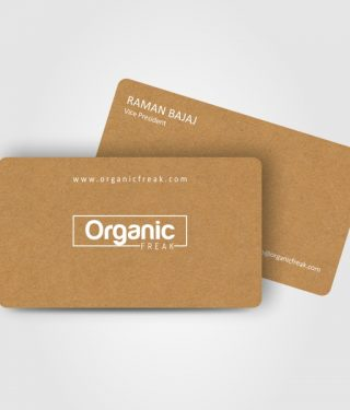 Food Industry Visiting Card