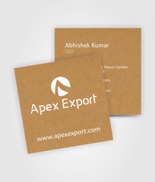 Apex Export Business Card