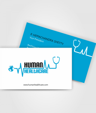 Healthcare Industry Business Card