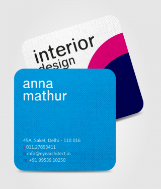 Interior Design Industry Business Card