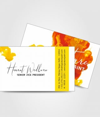 Interior and Architectural Industry Business Card Home