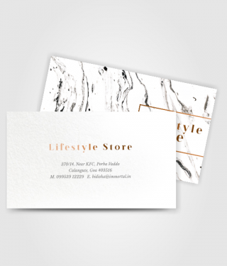 Lifestyle Store Business card