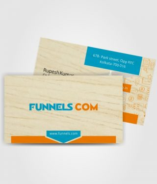 Marketing & Communication Industry Business Card