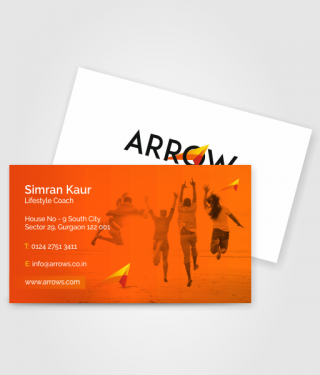 Motivation speaker Business Card