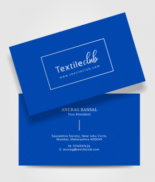Textile Industry Business Card