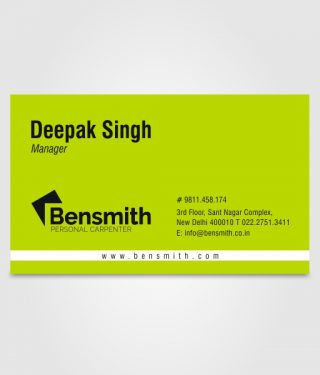 Bensmith Business Card