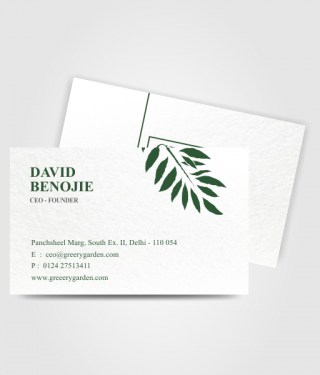 DAVID BENOJIE Business Card