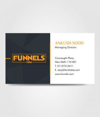 Funnels Business Card