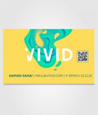 Vivid Visiting Card 02